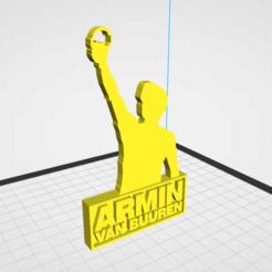 Untitled.png Télécharger fichier STL Statue d'Armin Van Buuren • Objet imprimable en 3D, AndreiDT