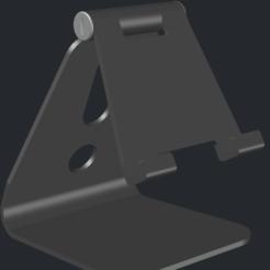 Schermata 2020-12-05 alle 17.34.16.png Télécharger fichier STL Support de support pour iPhone-iPad réglable • Objet pour impression 3D, biagioc