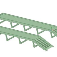 4.jpg Download STL file Car Ramp Long • 3D printing model, Gerul