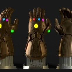 ace69b5c8f0d498503d69fd620c56e88_preview_featured.jpg Download STL file INFINITY GAUNTLET • 3D printing model, XisPina