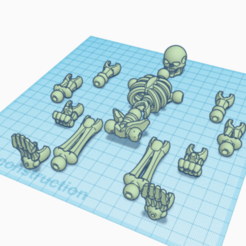 3D design Terrific Sango _ Tinkercad - Google Chrome 17_11_2020 15_10_58 (2).png Download STL file skeleton articulated functionalnal STL • 3D printable design, C7m4th1as