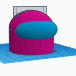 3D design Brilliant Luulia _ Tinkercad - Google Chrome 18_11_2020 16_35_49 (2).png Download STL file among us phone seaters regulable size among us head • Design to 3D print, C7m4th1as
