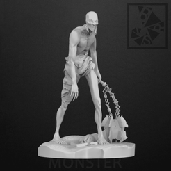 1.png Download OBJ file Monster • Model to 3D print, Barashy