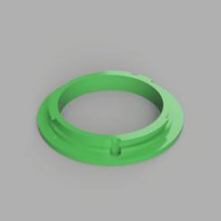 EF Canon Mount.png Download STL file Canon EF Mount • Design to 3D print, LuisViquez