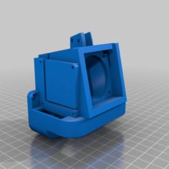 Ender_3_Fan_Duct.png Télécharger fichier STL gratuit Satsana Ender 3 Fan Duct avec 2 ventilateurs à filament • Plan à imprimer en 3D, ehabahmed