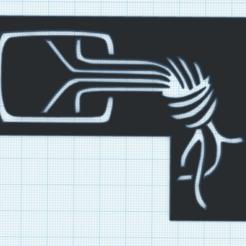 kjnoten.png Download free STL file Chaosknoten - CCC - Stencil • 3D print template, 3dnudel