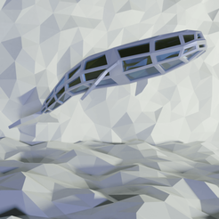 1Blue Whale1080x1080.png Download free STL file WHALE LOWPOLY • 3D printing design, Krashadar3D