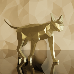 1Sphynx Front-min.png Download free STL file CAT LOWPOLY (SPHYNX) • 3D printing object, Krashadar3D