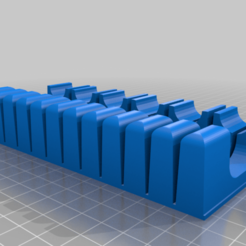 knife-holder-2.png Download free STL file Drawer Knife Organizer • 3D print object, thebelin