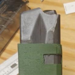 Glock adapter.jpg Télécharger fichier STL M9 à G17/G18/G19/G26/G34 Adaptateur Mag Gen 4-5 • Modèle imprimable en 3D, ozarkmtnranger
