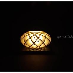 light vase.jpg Télécharger fichier STL Vase lumineux • Design imprimable en 3D, zaxisfactory