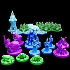 720X720-photo-dec-03-2-34-52-pm.jpg Télécharger fichier STL gratuit Tactiques de poche : Les sorciers de la forêt de cristal • Objet pour impression 3D, illgottengames