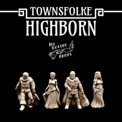 720X720-highborn-render.jpg Télécharger fichier STL Townsfolke : Highborn • Design à imprimer en 3D, illgottengames