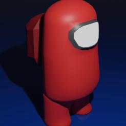 AmongUs.2.Bis.png Télécharger fichier STL Among Us 3D Print • Objet imprimable en 3D, AR-Kam