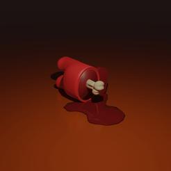 AmongUs.2_Dead.1.png Télécharger fichier STL Among Us - Dead 3D Print • Plan pour imprimante 3D, AR-Kam