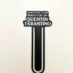 124832497_119401496639513_2369864183463331534_n.jpg Télécharger fichier STL Quentin Tarantino Book Mark • Plan imprimable en 3D, impresiones_bb_3d