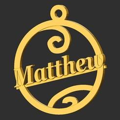 Matthew.jpg Download STL file Matthew • 3D print template, merry3d