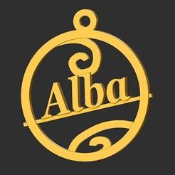 Alba.jpg Télécharger fichier STL Alba • Modèle pour impression 3D, merry3d