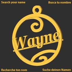 Wayne.jpg Download STL file Wayne • 3D printer object, merry3d