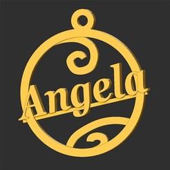 Angela.jpg Télécharger fichier STL Angela • Plan pour impression 3D, merry3d
