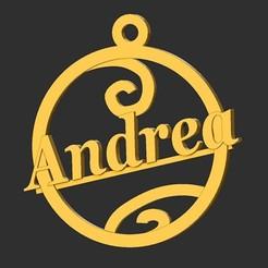 Andrea.jpg Télécharger fichier STL Andrea • Plan à imprimer en 3D, merry3d