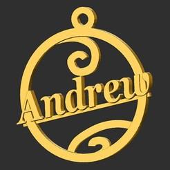 Andrew.jpg Télécharger fichier STL Andrew • Modèle pour imprimante 3D, merry3d