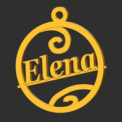 Elena.jpg Télécharger fichier STL Elena • Design pour imprimante 3D, merry3d
