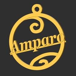 Amparo.jpg Télécharger fichier STL Amparo • Modèle pour impression 3D, merry3d