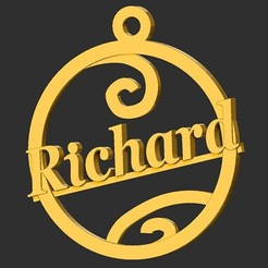 Richard.jpg Télécharger fichier STL Richard • Objet pour imprimante 3D, merry3d