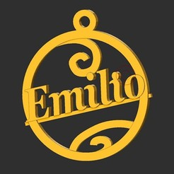 Emilio.jpg Télécharger fichier STL Emilio • Objet à imprimer en 3D, merry3d