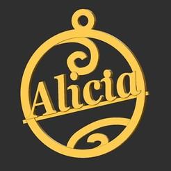 Alicia.jpg Télécharger fichier STL Alice • Objet imprimable en 3D, merry3d