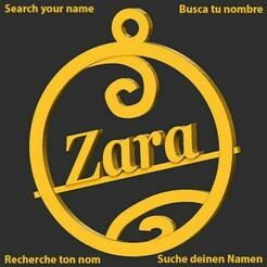Zara.jpg Download STL file Zara • 3D printable object, merry3d