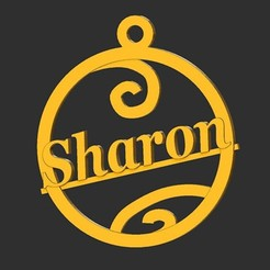 Sharon.jpg Download STL file Sharon • Object to 3D print, merry3d