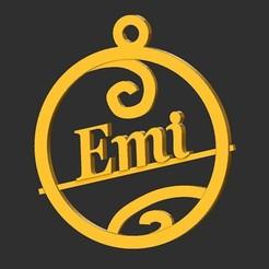 Emi.jpg Télécharger fichier STL Emi • Plan à imprimer en 3D, merry3d