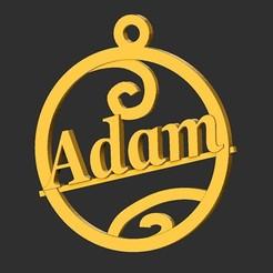 Adam.jpg Télécharger fichier STL Adam • Modèle à imprimer en 3D, merry3d
