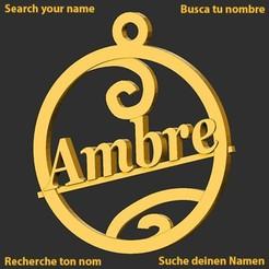 Ambre.jpg Download STL file Ambre • 3D printing design, merry3d