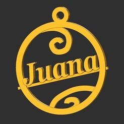 Juana.jpg Download STL file Joan • 3D printing template, merry3d
