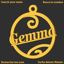 Gemma.jpg Download STL file Gemma • 3D printing design, merry3d