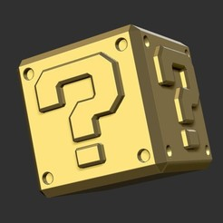 MarioBox.jpg Download STL file MarioBox • 3D printer model, merry3d
