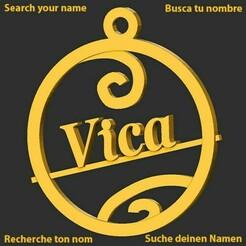 Vica.jpg Download STL file Vica • 3D printing design, merry3d