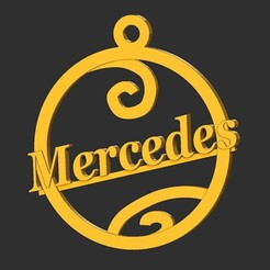 Mercedes.jpg Download STL file Mercedes • 3D printable design, merry3d