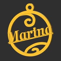 Marina.jpg Download STL file Marina • 3D print model, merry3d