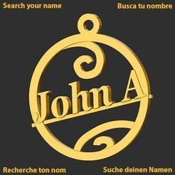 JohnA.jpg Download STL file JohnA • Model to 3D print, merry3d