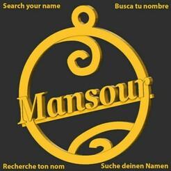 Mansour.jpg Download STL file Mansour • 3D printer model, merry3d