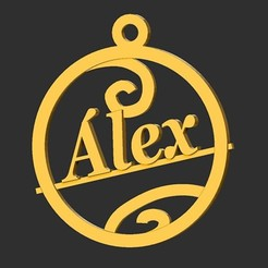 Alex.jpg Télécharger fichier STL Alex • Plan imprimable en 3D, merry3d