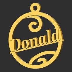 Donald.jpg Download STL file Donald • Template to 3D print, merry3d