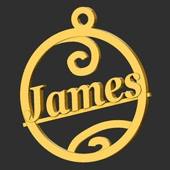 James.jpg Download STL file James • 3D printer object, merry3d