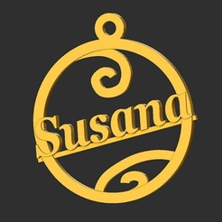 Susana.jpg Download STL file Susana • Object to 3D print, merry3d