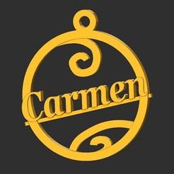 Carmen.jpg Télécharger fichier STL Carmen • Design imprimable en 3D, merry3d
