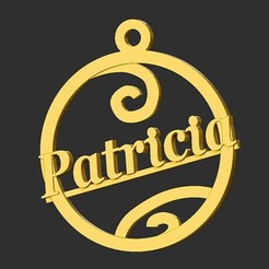 Patricia.jpg Download STL file Patricia • 3D printable template, merry3d